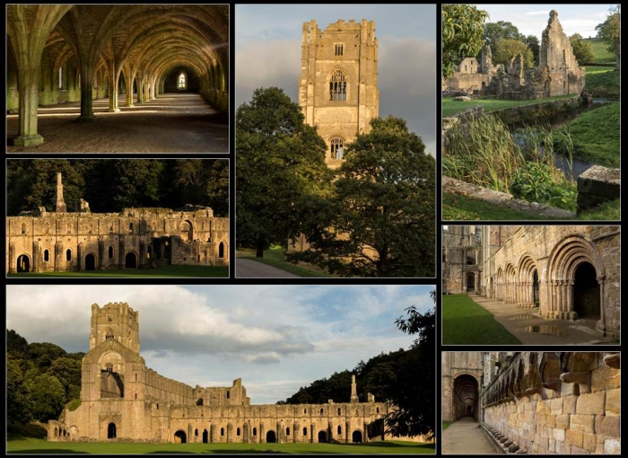 Fountains Abbey Panel