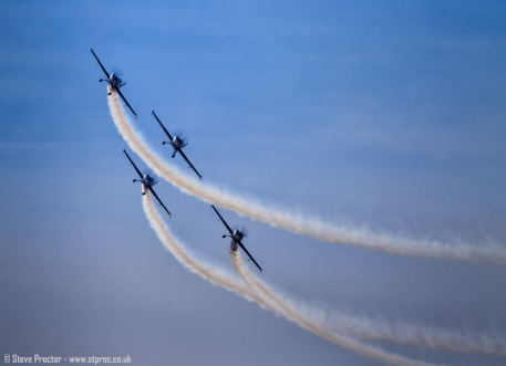 The Blades Display Team, Southport Airshow