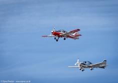 Bulldog and Tutor, Southport Airshow