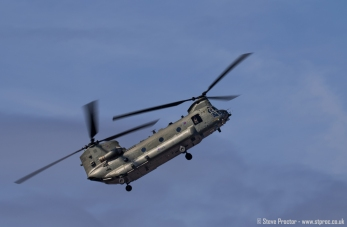 Chinook Helicopter, Southport Airshow