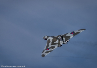 Vulcan Bomber, Southport Airshow