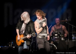 Carl Sentence and Jimmy Murrison of Nazareth at the Grand