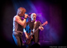 Carl Sentence and Pete Agnew of Nazareth at the Grand