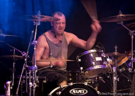 Lee Agnew of Nazareth at the Grand