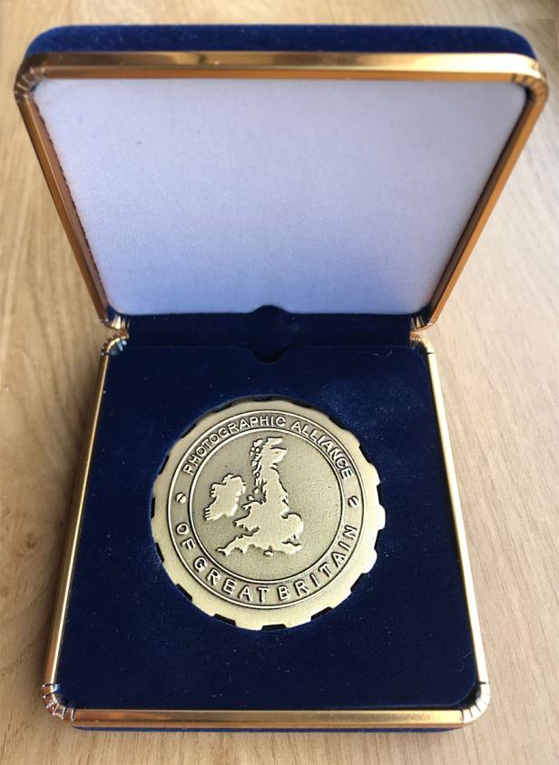 PAGB Medal - GB Trophy